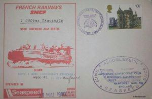 2000ème traversée de la Manche (21 mai 1980)