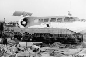 Le Naviplane N102-L en avril 1983
