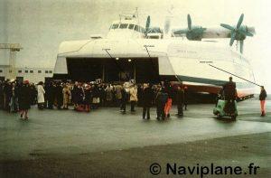 Débarquement de l'équipage du N500 à Boulogne sur Mer