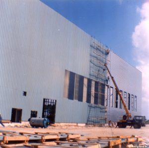 Construction de l'usine SEDAM