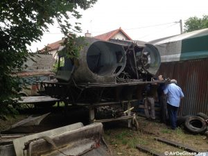 La carcasse du Naviplane N102-C-2