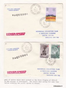 "Enveloppe transportée à bord du N500 ""Ingénieur Jean Bertin"" en mai 1983"