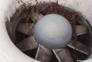 Le ventilateur de sustentation du Naviplane N102-C-2