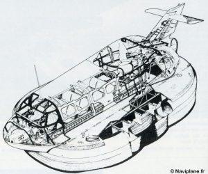 Écorche du Naviplane N102-L