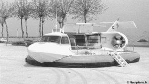Le Naviplane N102-L posé à Pauillac