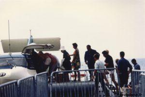 Embarquement des passagers
