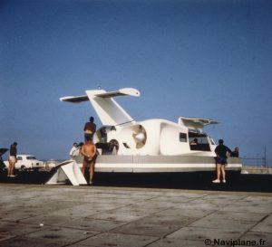 Le prototype du Naviplane N102