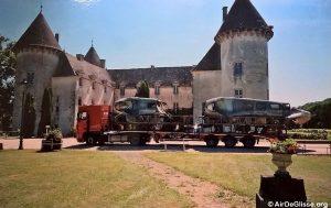 Arrivée du convoi à Savigny les Beaune