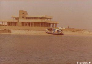 Démonstration du Naviplane N102-L pour le Cheikh fils du commandant les Emirats