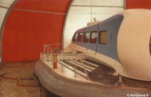 L'abri construit pour le Naviplane N102-L