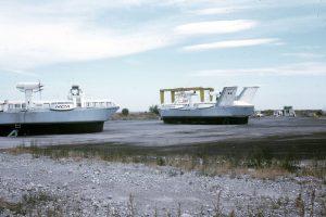 Les Naviplanes N300 sur le Naviport de Nice