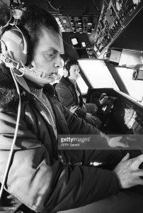 Pilote et copilote pendant le convoyage