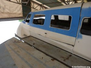 Le Naviplane N102-C-3 prêt à être restauré