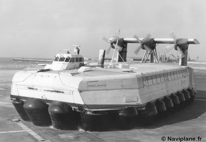 "Le Naviplane N500 ""Ingénieur Jean Bertin"""