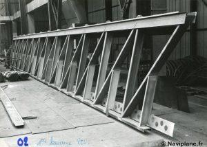 Structure d'un bordé latéral du N500