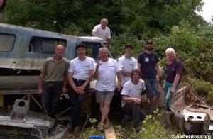 L'équipe de sauvetage des Naviplanes N102 à Villenave d'Ornon